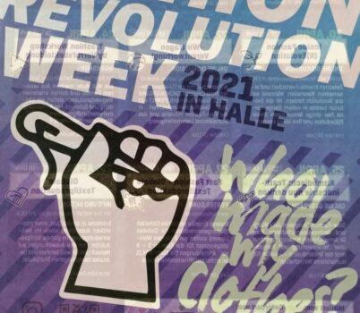 Fashion Revolution vom 19. bis zum 25.04.21